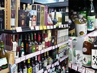 【品揃えの豊富さ】 日本酒・焼酎から洋酒まで多種多様なお酒